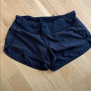 Lululemon shorts size 6 black
